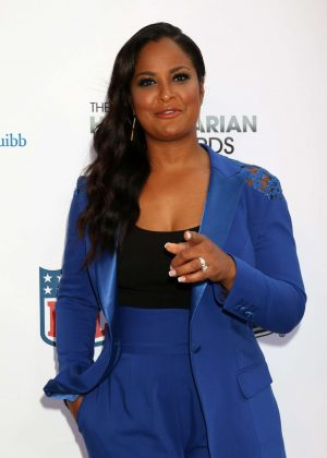 Laila Ali - 4th Annual Sports Humanitarian Awards in Los Angeles