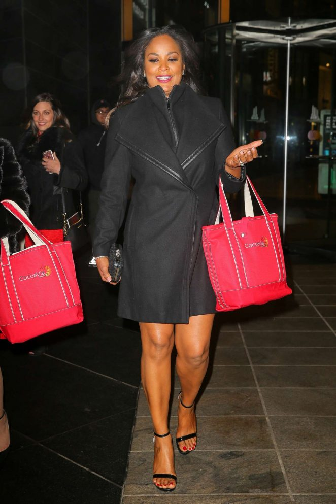 Laila Ali out and about in New York -08