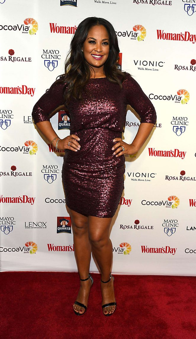 Laila Ali - Woman's Day 14th Annual Red Dress Awards in New York