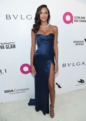 Lais Ribeiro - 2018 Elton John AIDS Foundation's Oscar Viewing Party in West Hollywood