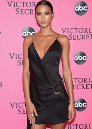 Lais Ribeiro - 2018 Victoria's Secret Viewing Party in New York