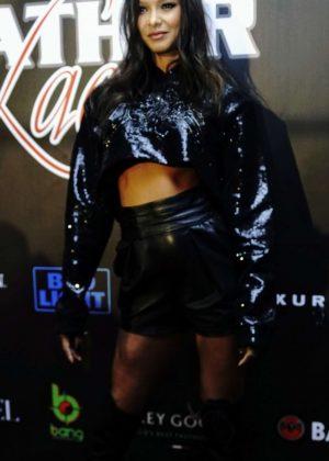 Lais Ribeiro - 2019 Super Bowl Leather & Laces Party in Atlanta