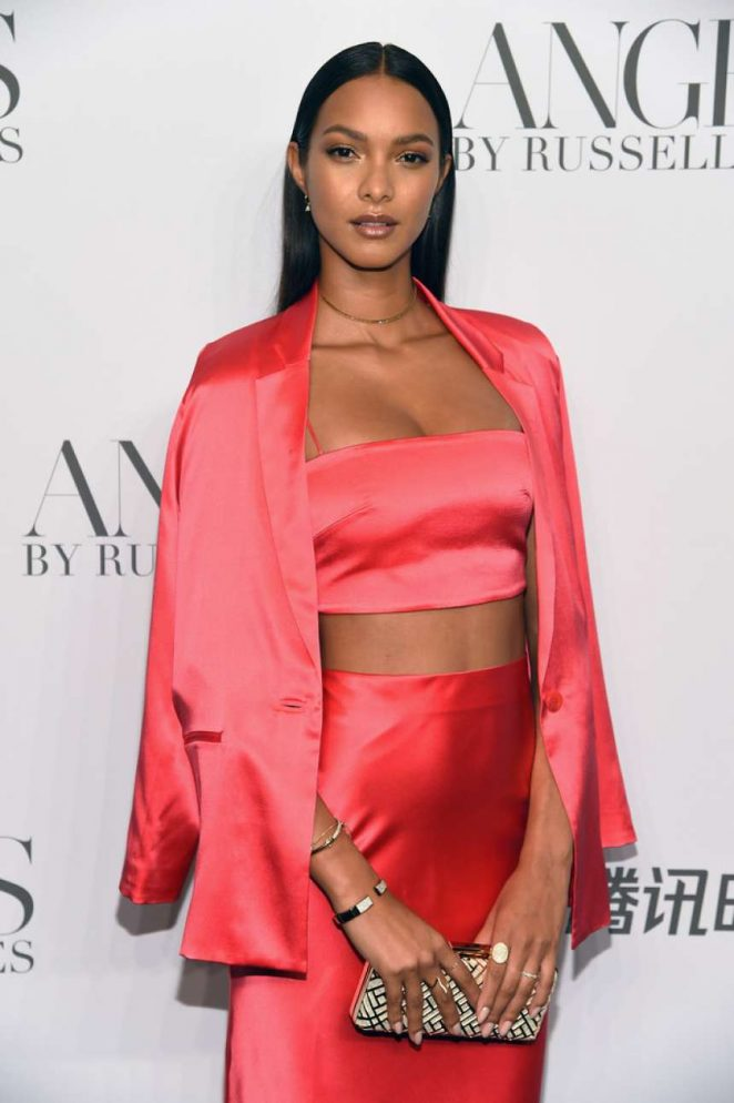 Lais Ribeiro - 'ANGELS' by Russell James Book Launch and Exhibit in NY