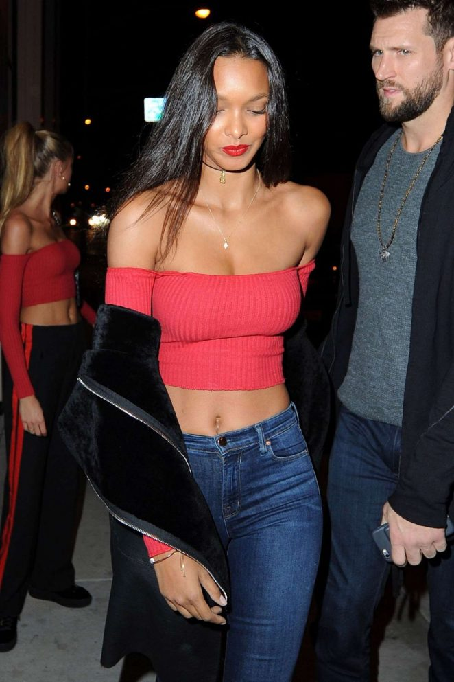 Lais Ribeiro at Catch LA in West Hollywood