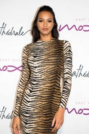 Lais Ribeiro - Cathedrale Restaurant Opening in New York
