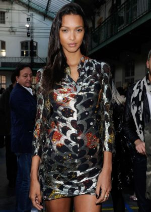 Lais Ribeiro - John Galliano AW 2017 Show in Paris