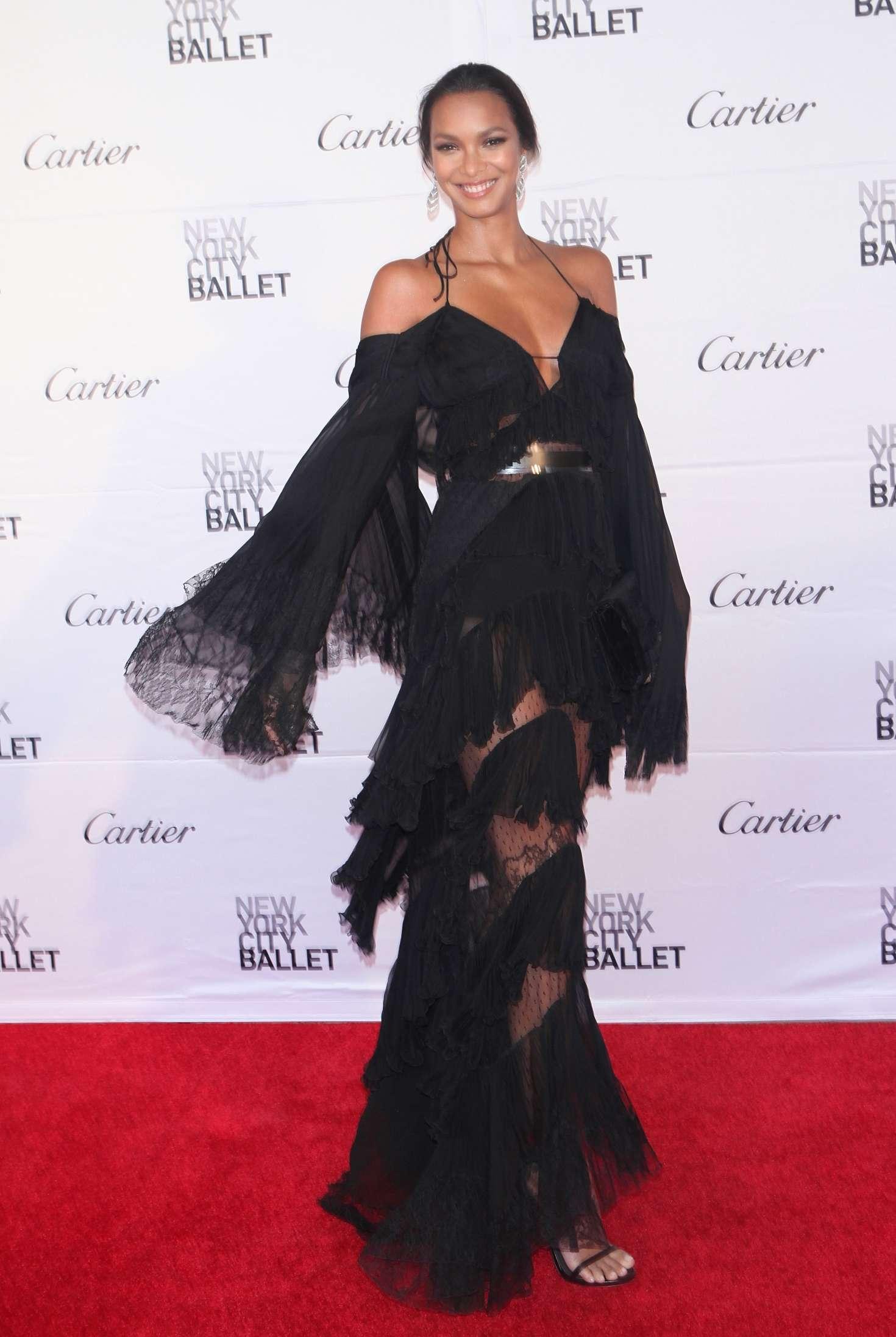 Lais ribeiro at new york city ballet spring gala
