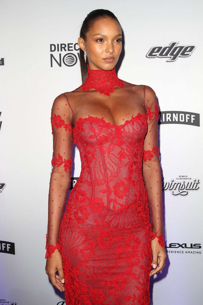 Lais Ribeiro - Sports Illustrated Swimsuit Edition Launch Event in NY