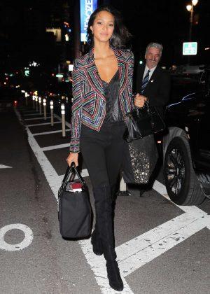 Lais Ribeiro - Victoria's Secret Fashion Show Fittings in New York