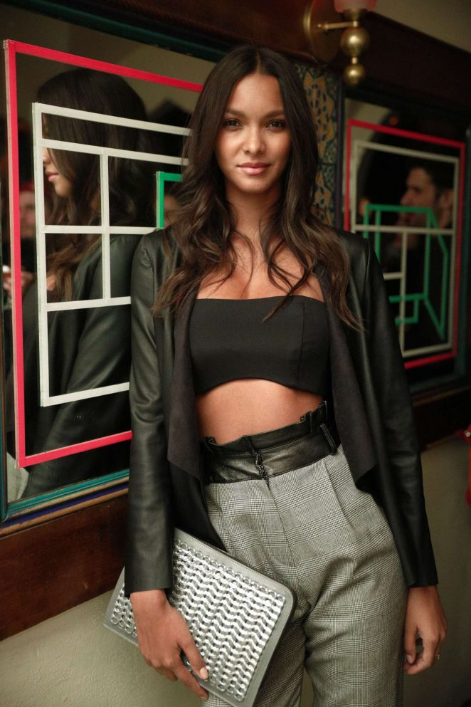 Lais Ribeiro - W Magazine Celebrates the Relaunch of Fiorucci in NY