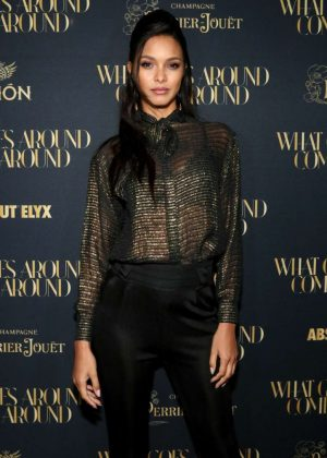 Lais Ribeiro - What Goes Around Comes Around Flagship Opening in NYC