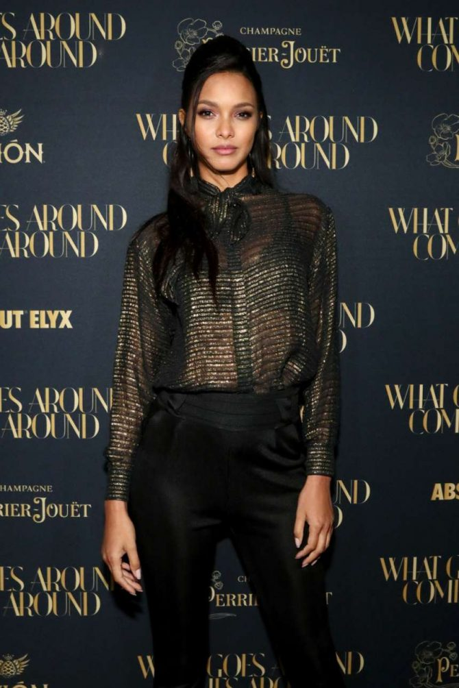 Lais Ribeiro – What Goes Around Comes Around Flagship Opening in NYC