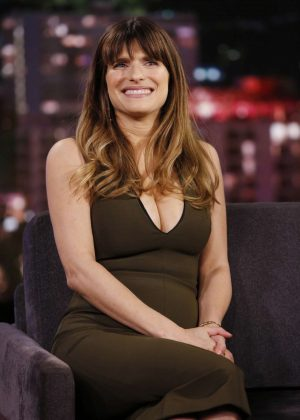 Lake Bell on 'Jimmy Kimmel Live' in Hollywood