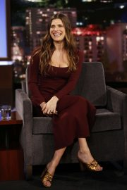 Lake Bell - Visits Jimmy Kimmel Live! in Hollywood