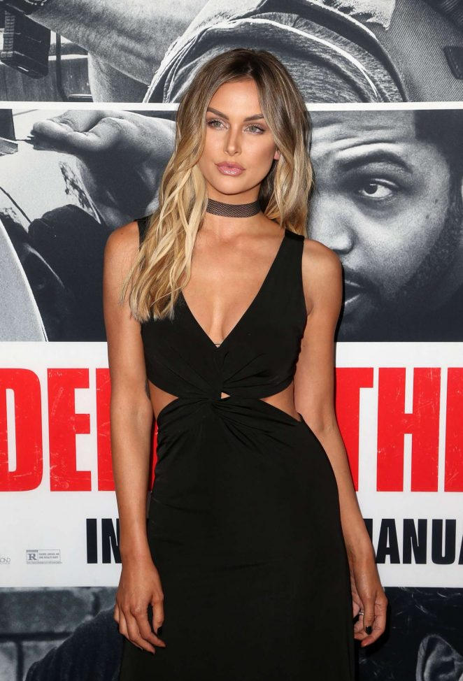 Lala Kent – 'Den of Thieves' Premiere in Los Angeles