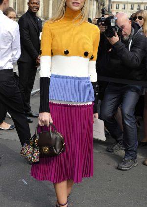 Lala Rudge - Lanvin Fashion Show SS17 in Paris