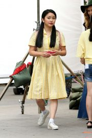 Lana Condor - Films 'To All the Boys I've Loved Before' Season 3 in New York City
