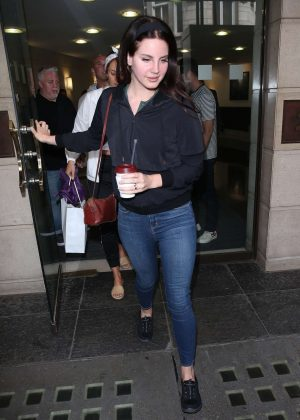 Lana Del Ray at Venture House in London