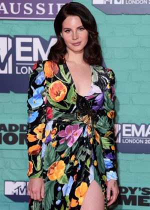 Lana Del Rey - 2017 MTV Europe Music Awards in London