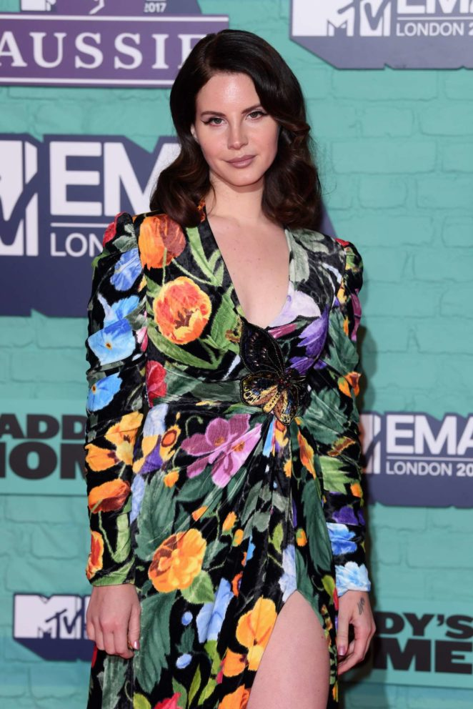 Lana Del Rey - 2017 MTV Europe Music Awards in London