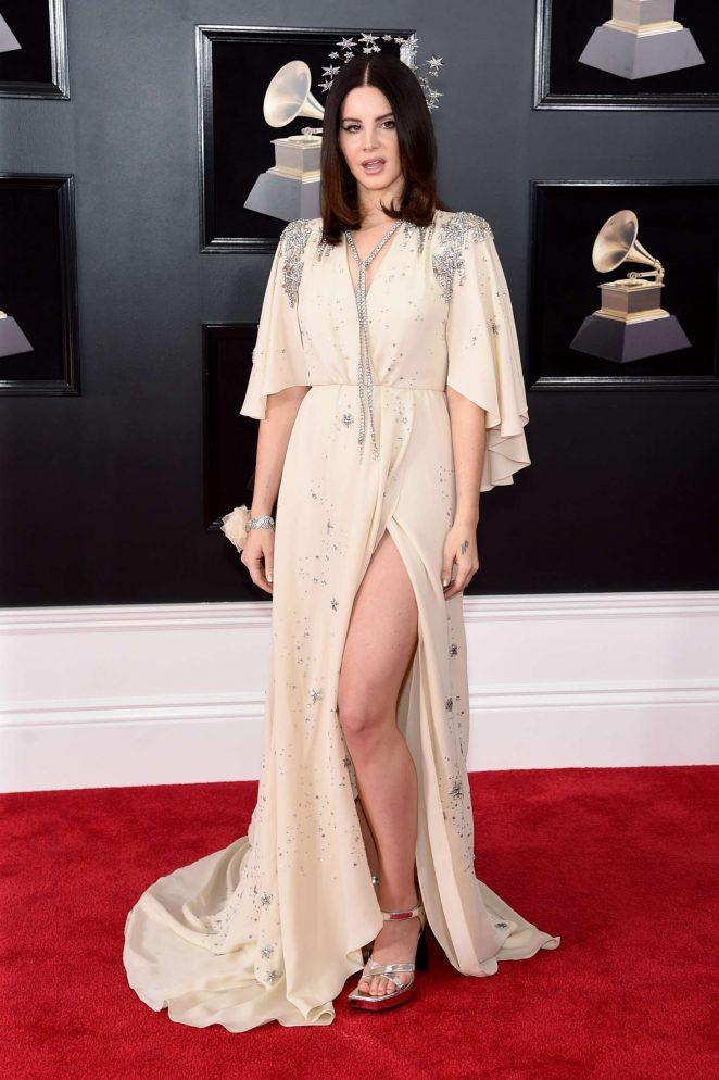 Lana Del Rey - 2018 GRAMMY Awards in New York City