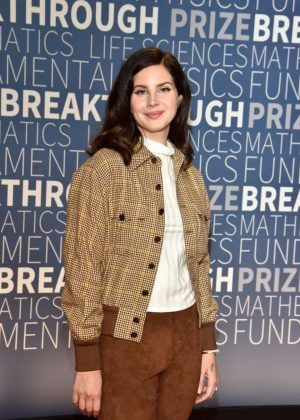 Lana Del Rey - 2019 Breakthrough Prize in Mountain View