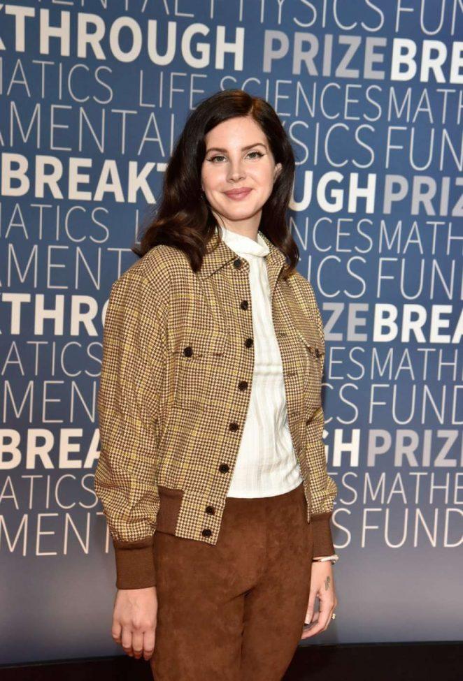 Lana Del Rey – 2019 Breakthrough Prize in Mountain View
