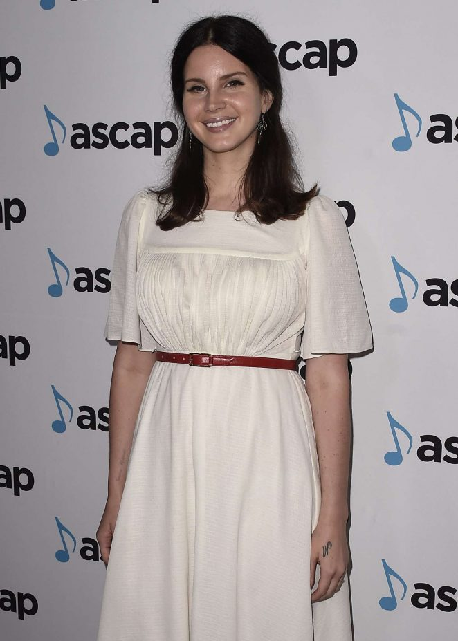 Lana Del Rey - 35th Annual ASCAP Pop Music Awards in Beverly Hills
