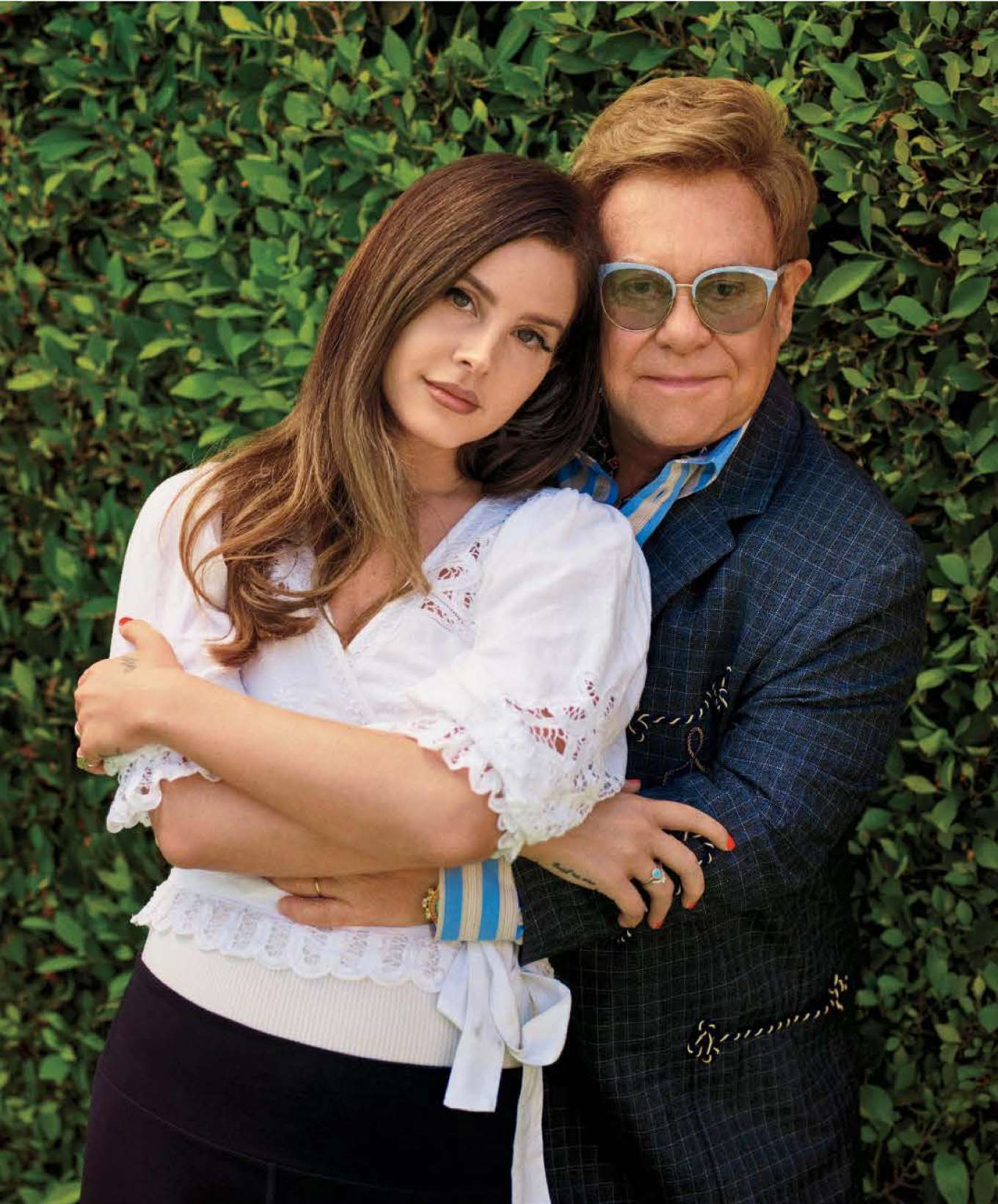 Lana Del Rey and Elton John - Rolling Stone US Magazine (November 2019)