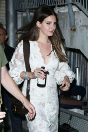 Lana Del Rey - Arrives at Hollywood Bowl concert in LA