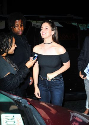 Lana Del Rey at 1Oak nightclub in Los Angeles