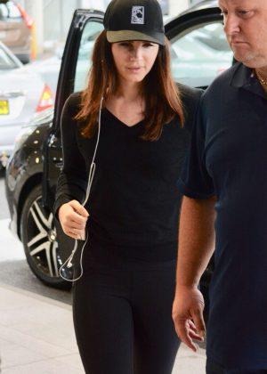 Lana Del Rey at Airport in Australia
