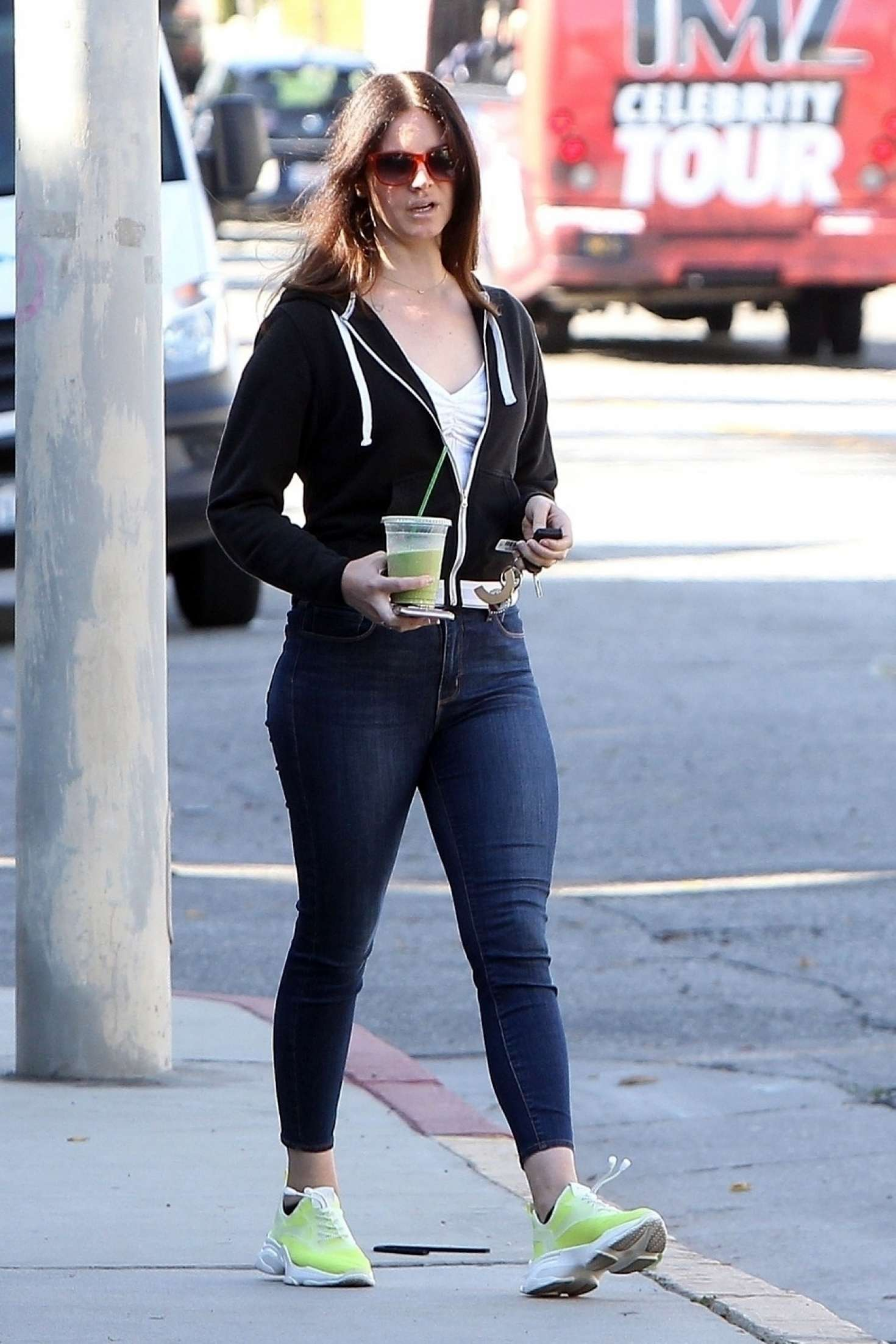 Lana Del Rey at Cha Cha Matcha in West Hollywood