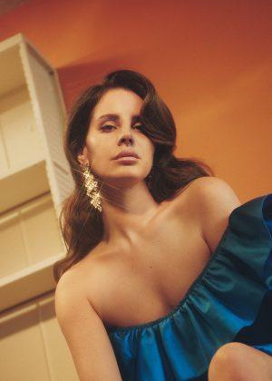 Lana Del Rey by Charlotte Wales for Dazed Summer 2017