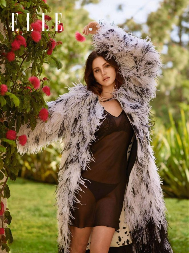 Lana Del Rey – Elle UK Magazine (June 2017)