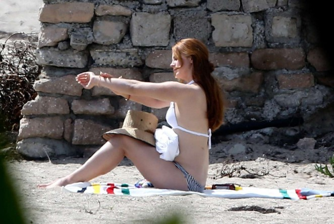 Lana Del Rey in Bikini on Malibu Beach