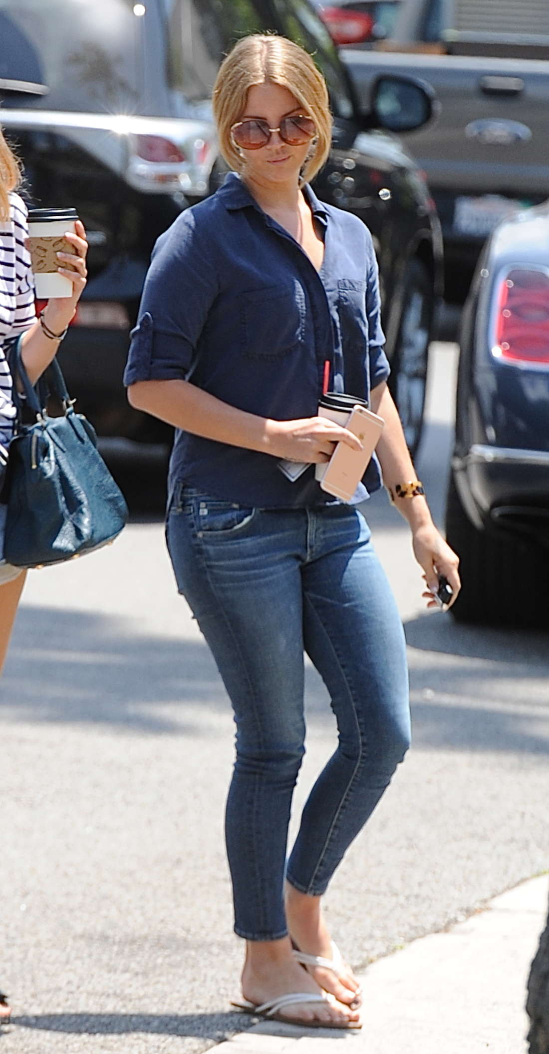 Lana Del Rey in Jeans at a lunch in Beverly Hills