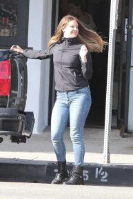 Lana Del Rey in Jeans - Out in Los Angeles