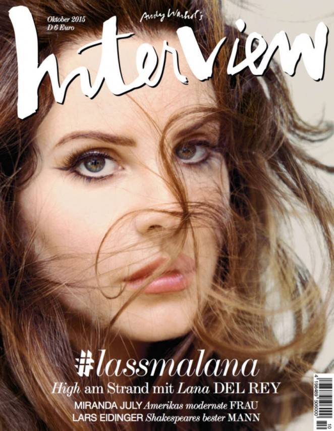 Lana Del Rey - Interview Germany Cover (October 2015)