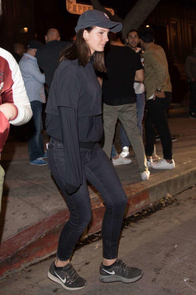 Lana Del Rey Leaves Verlaine in LA