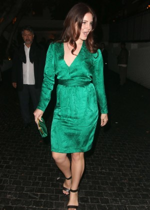 Lana Del Rey - Leaving the Chateau Marmont in West Hollywood