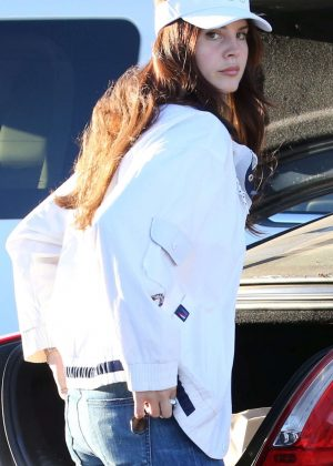 Lana Del Rey out in Malibu