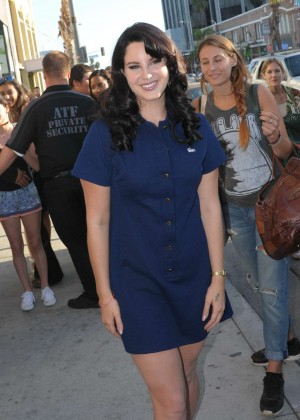 Lana Del Rey - Promote her latest album in Hollywood