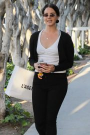Lana Del Rey - Seen at Agence Boutique in West Hollywood