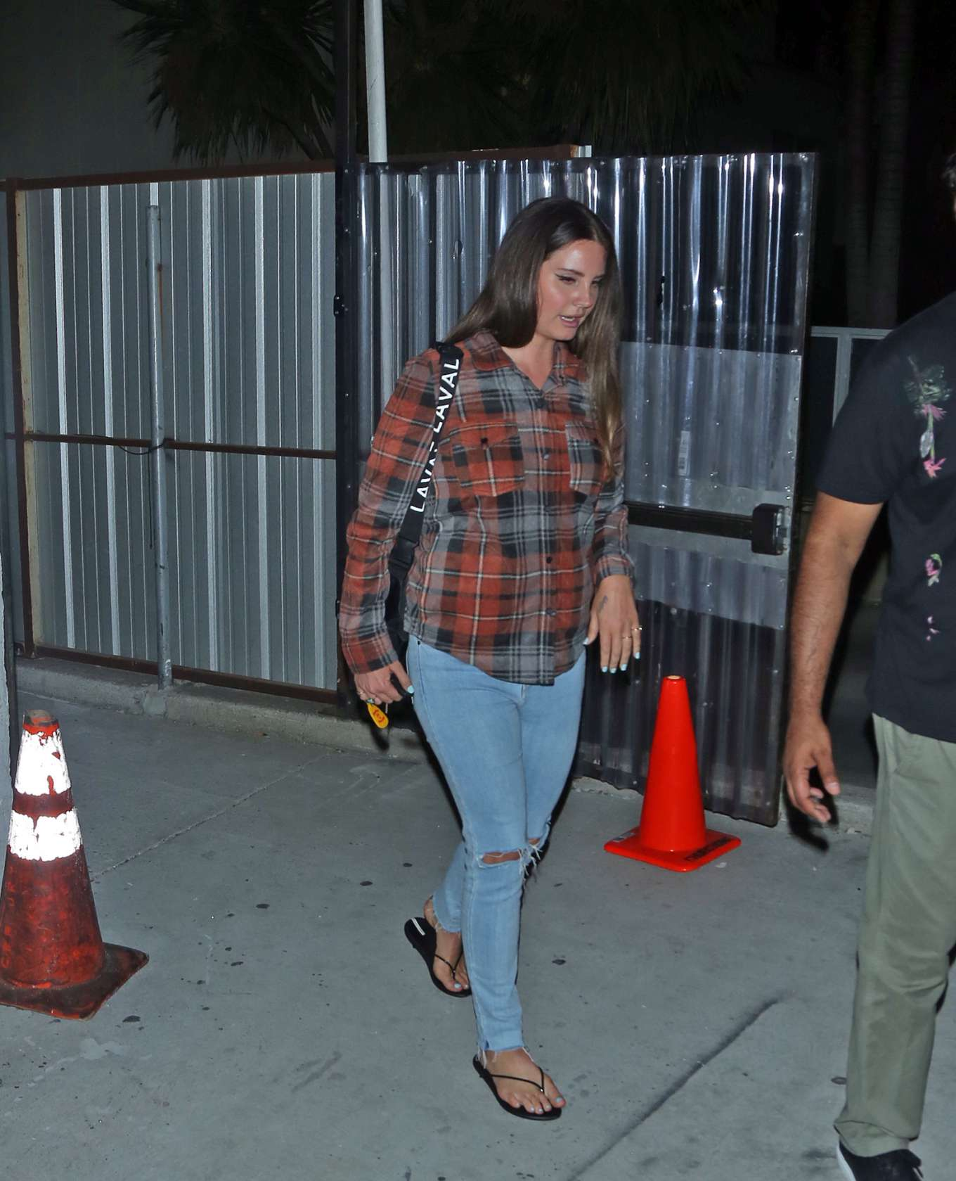 Lana Del Rey 2019 : Lana Del Rey seen leaving church service tonight in Beverly Hills-03