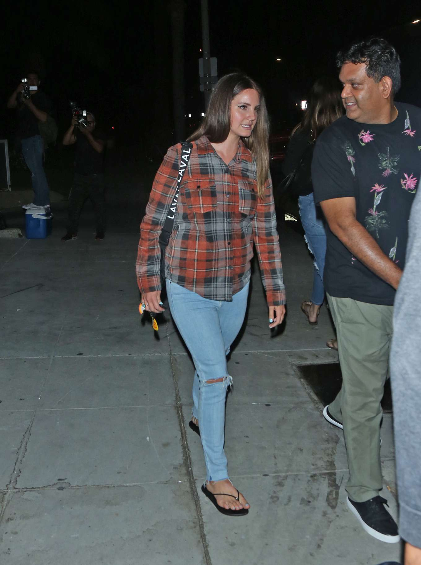 Lana Del Rey 2019 : Lana Del Rey seen leaving church service tonight in Beverly Hills-05