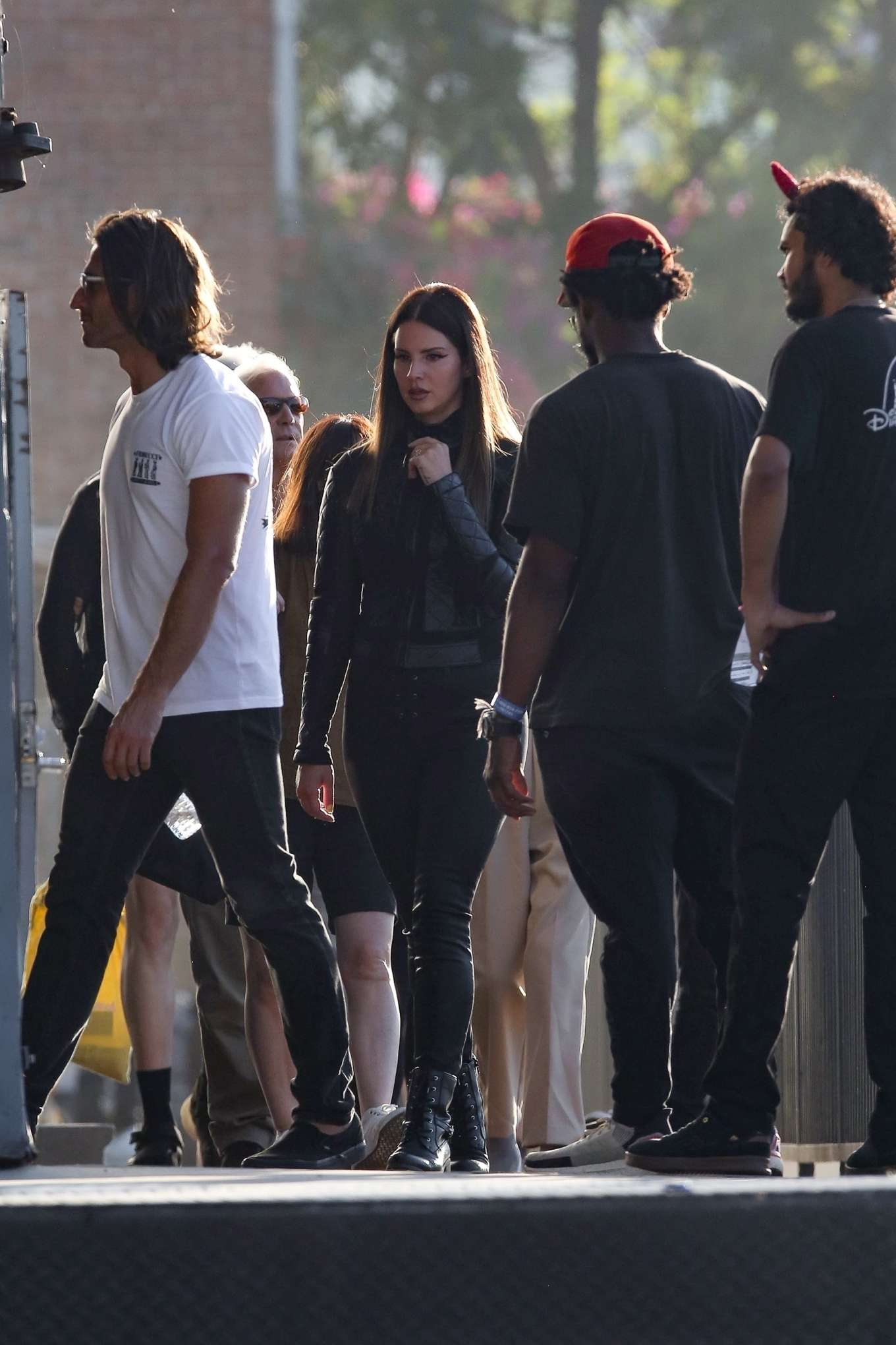 Lana Del Rey – Shoots a music video in Los Angeles-26