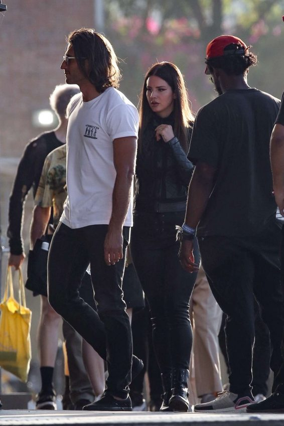 Lana Del Rey 2019 : Lana Del Rey – Shoots a music video in Los Angeles-41