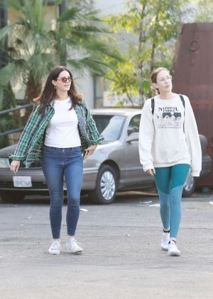 Lana Del Rey - Shopping with a friend in West Hollywood