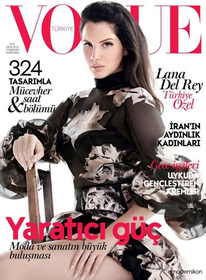 Lana Del Rey - Vogue Turkey Cover (November 2015)